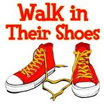 Walk in their shoes logo